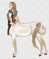 Centaur Adolescent 1 by Mehetabel