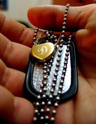 Little Gold Heart by mattioli13