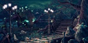 Master of the Dark Park by Oxeren