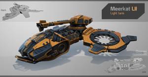 Meerkat LII Light Tank by Oxeren