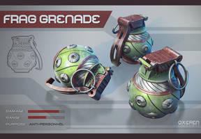 Frag Grenade by Oxeren