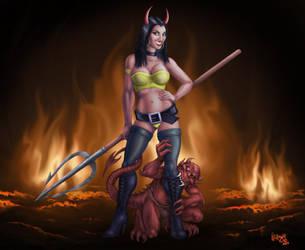Devil Girl by Culhain
