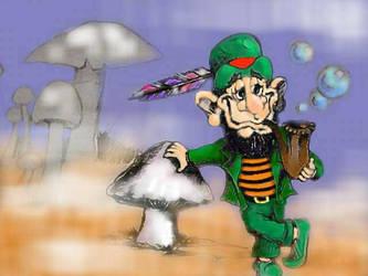 The Leprechaun by Culhain