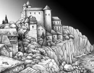 Castle Dorn by Culhain