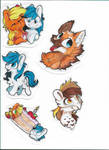 [Patreon] Traditional Stickers by CutePencilCase