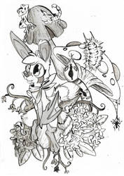Inktober 2018-Poisonous by CutePencilCase