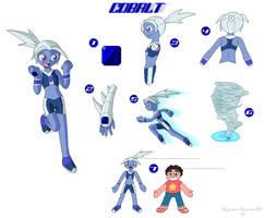 SU Gem OC-Cobalt (Fan-Made) by SuperSonicGX