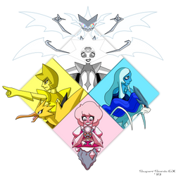 The Great Diamond Champions by SuperSonicGX