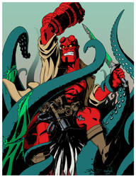 Hellboy Colors by drudgeons