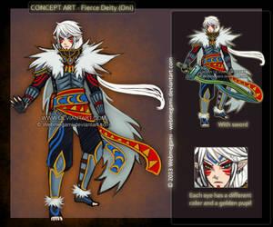 Concept art: Fierce Deity by Webmegami