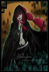 Concept art: Cloak of Darkness by Webmegami