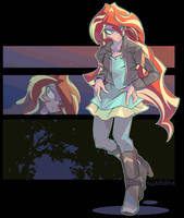 Sunset Shimmer by tyuubatu