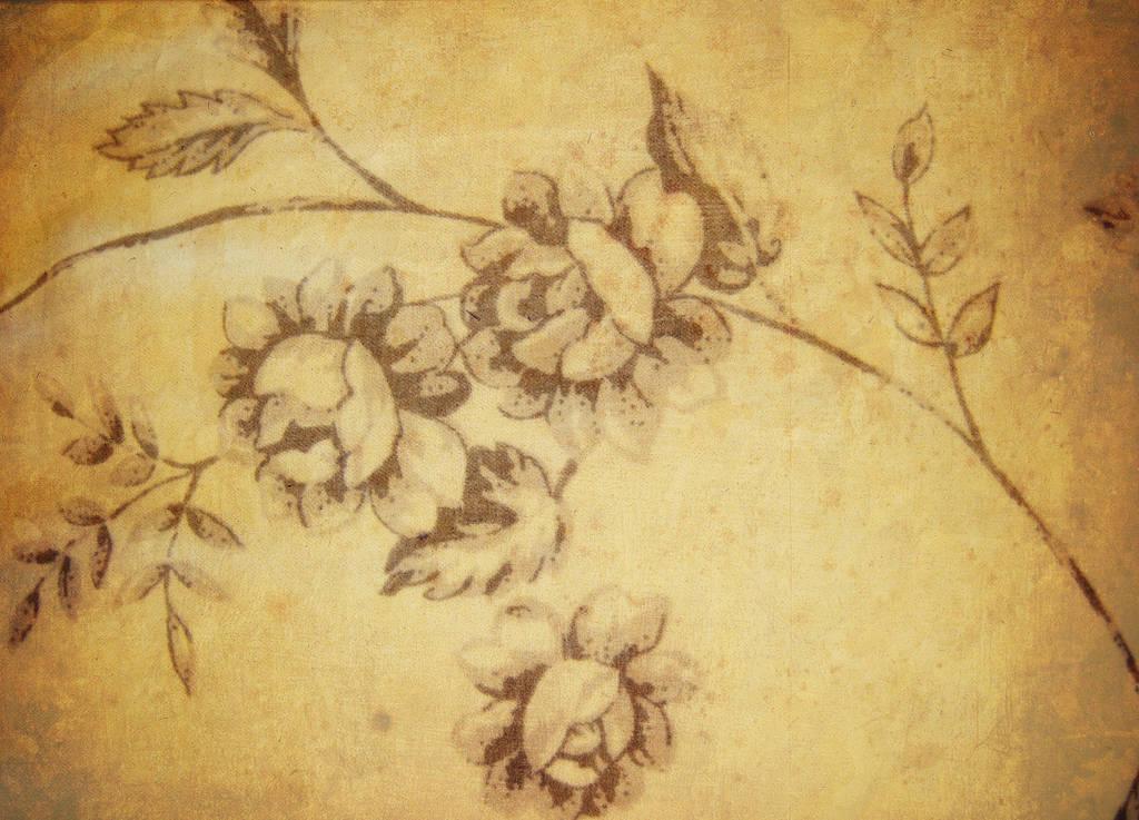 Floral Vintage I by Lucidical