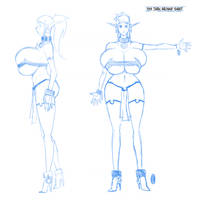 Syx Turn Around Sheet by Hexamous