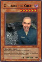 Chuckles the Cheat Yugioh card by RenerDeCastro