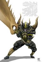 Black Diablos armor by AMBONE105