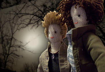 Supernatural dolls2 by xxTaylerxx