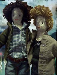 Supernatural dolls4 by xxTaylerxx