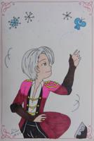 17th Birthday Scribble Challenge- Victor Nikiforov by LadyNin-Chan