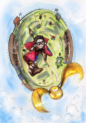 Quidditch by incaseyouart