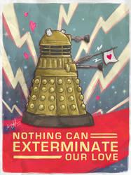 A Very Dalek Valentines by amy-liu