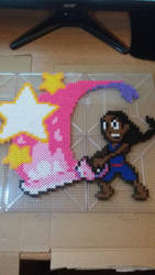 Connie Steven Universe Perler bead art by pyguy7