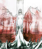 Aquarell death by Fukusaku