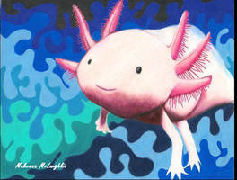 Axolotl by makennaa