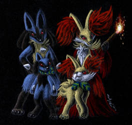 Pkmn Super Mystery Dungeon - Friends Forever by FuzzyAcornIndustries