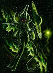 Emerald Heavens by FuzzyAcornIndustries