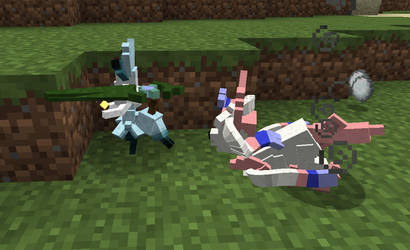 Minecraft Modification: Okami Sylveon Sample by FuzzyAcornIndustries