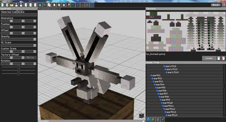 Minecraft: Mu Buneary model sample by FuzzyAcornIndustries