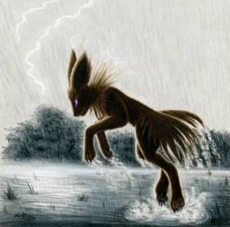 Thunder Struck by FuzzyAcornIndustries