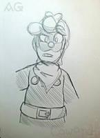 Mini L Sketch~ by COWARD-Piruli