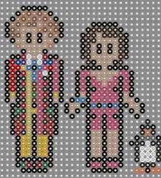Doctor who perler beads 8 by geek-2perlerbeads