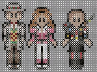 Doctor who perler beads  by geek-2perlerbeads