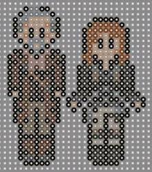 Doctor who perler beads 12 by geek-2perlerbeads
