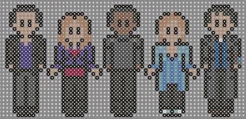 Doctor who perler beads 13 by geek-2perlerbeads