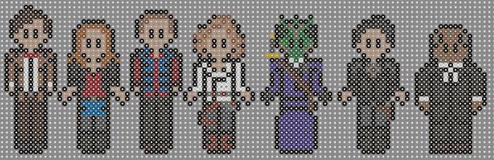 Doctor who perler beads 15 by geek-2perlerbeads