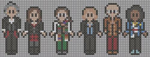 Doctor who perler beads 16 by geek-2perlerbeads