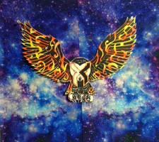 Space owl by 7artfan7
