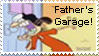FATHERS GARAGE Stamp by RustyFanatic05