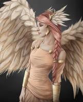Day 67 - Divine Angel by vionixsc