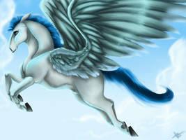 Pegasus by Vyntresser