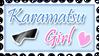 Karamatsu Girl Stamp by PanTran