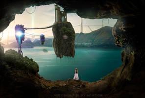 Secret island by marcosnogueiracb