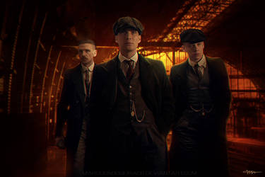 The Damn Peaky Blinders by marcosnogueiracb