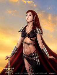 The last elf warrior by marcosnogueiracb