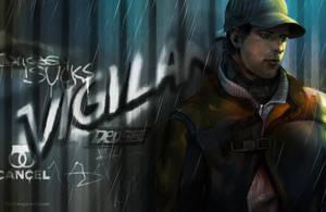 Watch Dogs - The Vigilante by WinglyC