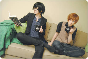 Sekaiichi Hatsukoi - The boss and the Slave by godirtypop
